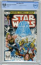 Star Wars   #74   CBCS   9.8   NMMT   White pages   8/83