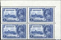 Mint Canada Newfoundland 1935 VF Scott #228 Silver Jubilee Stamps Never Hinged