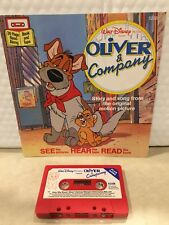 DISNEY READ ALONG BOOK AND CASSETTE SET OLIVER AND COMPANY HARD TO FIND