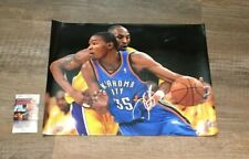 Kevin Durant signed 16x20 Photo Oklahoma City Thunder JSA COA