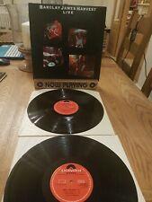 "BARCLAY JAMES HARVEST Live DOUBLE 12"" Vinyl LP 1974 A1 1st Press & PROCLEANED"