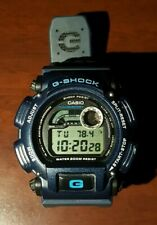 1990s CASIO G-SHOCK DW-9400 BLUE DIGITAL THERMOMETER THERMO MEMORY WATCH NATO