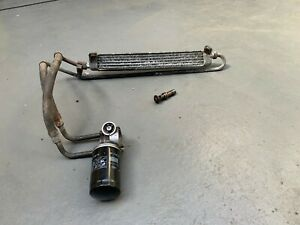 BMW E30 3 series M20 325i 320i Oil Cooler / Pipework Pipes / Adaptor Housing