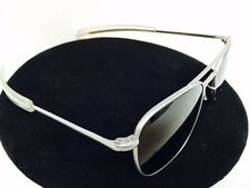 celebrities Randolph engineering matte chrome vs silver Aviator Sunglasses 52mm