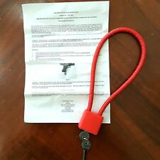 Firearm Safety Device Model No. Lvp300 Cable Gun Lock
