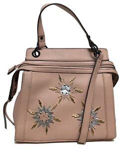 NWT Jessica Simpson Woman's Satchel, Blush Color, Adjustable/Detachable Strap
