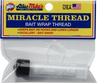 Atlas Mikes Miracle Bait Wrap Fishing Thread w/Dispenser 100 Foot Clear 66830