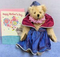 "HTF 9"" Blond  Mohair Hermann Princess Bear Ltd. Ed. Nr. 137- Mother's Day"