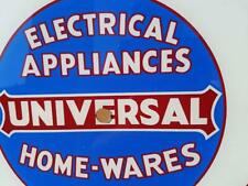 Electrical Appliances Home-Wares Universal Vtg Advertising Telechron Clock Face
