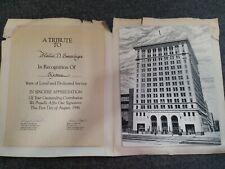 Third National Bank & Trust Dayton, Ohio 1986 Application Art Print Display