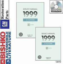 1999 Cadillac Seville Shop Service Repair Manual CD