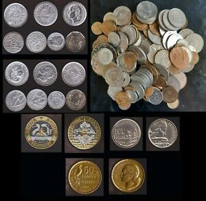 Job Lot 110+Coins,VF,All Over the World,Some 80 Years Old & Rare,See Description