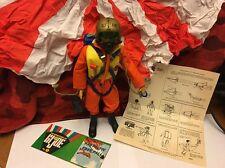 Vintage Gi Joe 12 Inch Adventure Team Action Figure Fantastic Freefall Set!!!!!