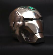 Fine 1:1 Replica Full metal Polished Iron Man MK42 LED eye Helmet Remote Control