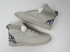NEW Reebok Wonder Woman Freestyle Hi Shoe Sneaker FW4658 Grey Womens Shoe Size 7