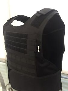 Concealable Bulletproof Vest Carrier BODY Armor Made With Kevlar lllA Safariland