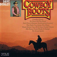 "DAVE DUDLEY ""Cowboy Boots"" TOP COUNTRY CD PILZ 1991 NEU & OVP 18 Tracks"