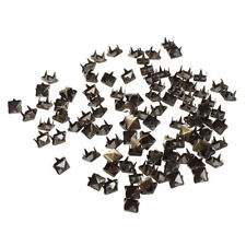 100x 6mm DIY Pyramiden Nieten Ziernieten Gothic Bronze fuer Guertel Mantel D6E2