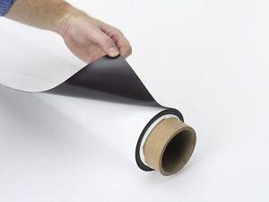 Magnético Rollo Vinilo Blanco 10 Metro Vehículo Grado Letrero Material