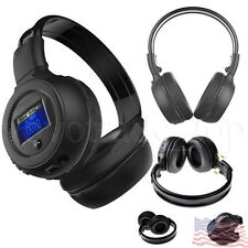 Stereo Bluetooth Wireless Headphone Music Game Headset Headband With Microphone