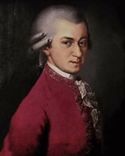 Classical Composer WOLFGANG AMADEUS MOZART Glossy 8x10 Photo Painting Poster