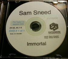 Sam Sneed - Immortal Reel Pro Tools DVD Session 2-Pac Makaveli Big Syke Outlawz