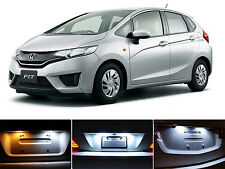 Xenon White License Plate / Tag 168 LED light bulbs for Honda Fit (2Pcs)