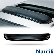 "34"" Universal Smoke Top Sun/Moon Roof Rain Snow Guard Window Visor Deflector"