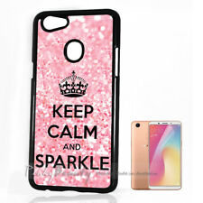 ( For Oppo A73 ) Back Case Cover P10308 Keep Calm Sparkle