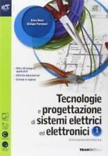 Tecnologie e progettazione sistemi elettrici elettron.1 TRAMONTANA 9788823345874