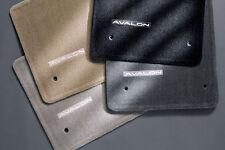 Toyota Avalon 2005 - 2010 Black Carpet Floor Mats - OEM NEW!