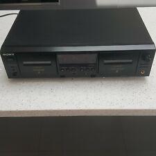 Vintage Sony Tc-we475 Stereo Cassette Deck
