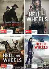 Hell On Wheels Season 1 2 3 4 : NEW DVD