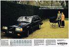 Publicité Advertising 1989 (2 pages) Volvo 740