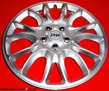 4 HERO-RACE- RADZIERBLENDEN silber metallic -13 ZOLL-NEU-TOP