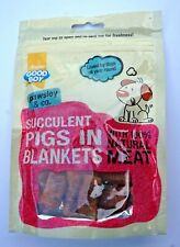 PIGS IN BLANKETS DOG TREATS WHEAT FREE THREE MEAT TREAT WITH 100% NATURAL MEAT