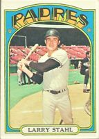 1972 Topps Baseball #782 SP Larry Stahl San Diego Padres High Number Card