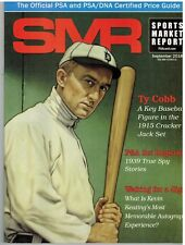SMR Sports Market Report PSA/DNA Guide Magazine #290 Ty Cobb September 2018