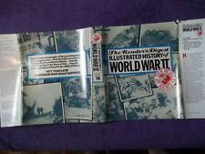 The Reader's Digest Illustrated History Of World War 2 Book-THE WORLD AT ARMS