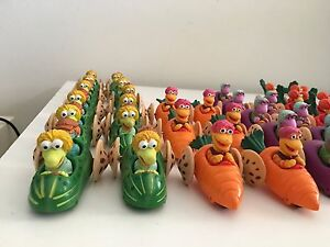 Fraggle Rock Army of Racers McDonalds Lot of 37 Muppets Ready For Action!