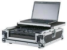 DJ Controller Kombi Case Pult Rack Turntablecase Equipment Mischpult Flightcase