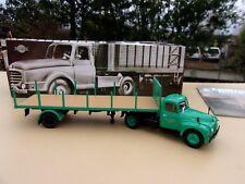 CITROEN U 55  Camion Semi Remorque Plateau à ridelles 1/43 NEUF en BOITE NEW