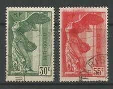 STAMPS-FRANCE. 1937. National Museums Set. SG: 586/87. Very Fine Used.