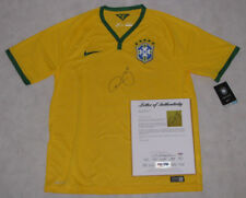 NEYMAR JR Hand Signed BRAZIL Jersey 2014 World Cup  + PSA DNA COA *BUY GENUINE*