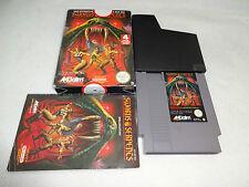 Swords and Serpents NES Spiel komplett mit OVP und Anleitung