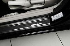 CAR DOOR SILL PROTECTOR SILLS GUARD for NISSAN JUKE [2010-2014] steel + carbon