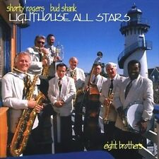 SHORTY ROGERS & BUD SHANK - Eight Brothers (CD 1997) Candid