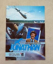 E906- Advertising Pubblicità -1986- JONATHAN DIMENSIONE AVVENTURA , CANALE 5