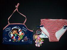 Dora the Explorer Swimsuit Swimwear Girls Tankini Extra Small XS 4/5 Anchor NWT