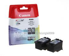 Original Canon PG510 Black & CL511 Colour Ink Cartridge For PIXMA MP280 Printer